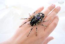 жуки пауки