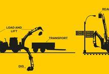 Lännen - Versatility / Lännen multifunction machine is versatile. It digs, loads, lifts and transports.