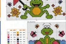 Krzyżykowe żabki