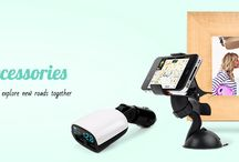 Car Accessories / Customize her ride and explore new roads together