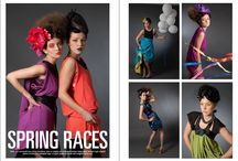 Dizingof pieces featured in editorial shoots / Beautiful garments styled in so many ways