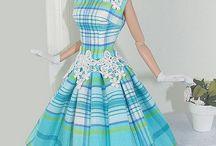 Barbie střihy