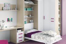 dormitorios juveniles para poco espacio