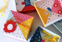 Wrapping Ideas and Gift Containers / by Lois Diehl