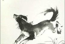 chinese brush p.koirat