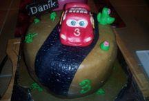 postup na auto blesk mc queene / dort- Cake