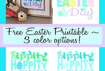 Easter FREE Printables / by Alena Dufault