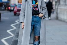 How to Wear: Long Grey Coat
