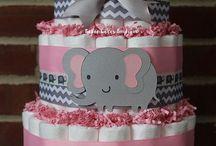 Elephant baby showers