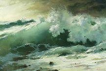 Картины морские