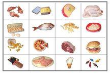 potraviny / materiály do mateřské školy