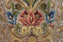 jakab-korabeli himzés jacobean embroidery