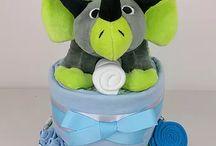 Nappy cake boy