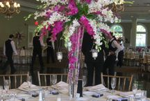 Tall style centerpieces / High stye arrangements are always show stoppers