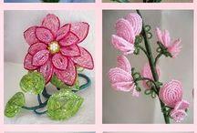 Koralkové květiny