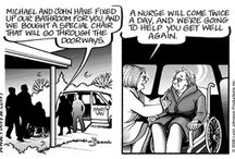 For Better or For Worse / We are throwing back to a comic strip we featured in 2007 expressing how a family suffers from a stroke and how they cope.