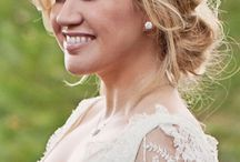 Beautiful Bride  Ideas // hair, dress, makeup