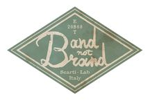 Band (Not) Brand / SCARTI-LAB Mediterranean Manufactures Band (Not) Brand - Special Features Collection