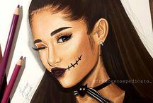 Ariana grande dessin