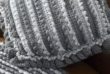 crocheted blankie