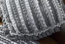 crocheted blankie