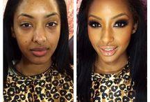Negro makeup