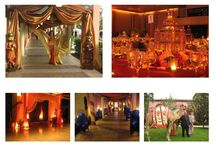 Arabian Nights Wedding Ideas / Mixing Crystals with a Gold and plum Arabian theme for a Romantic and Chic Wedding!