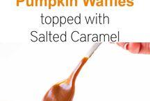 Pumpkin / A collection of all the best pumpkin dessert recipes.
