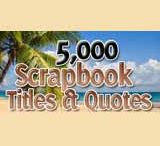 Scrapbooking Quote Ideas