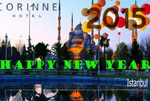 New Year 2015 / Happy New Year 2015! Another year starts and with it, new hopes and aspirations – a faint desire that sprouts in every human heart that speaks of happiness, prosperity and goodness to come.  http://www.corinnehotel.com/?page_id=15