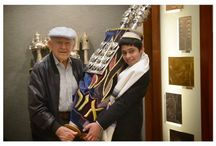 L'dor Vador / In Celebration of the Westminster Scroll Memorial Scrolls Trust 50th anniversary.  We join Rabbi Denise Eger, Jack Levin (Congregation Kol Ami's oldest member and WWII Vet), our next Bar Mitzvah Sydney Weisberg-Sweetman and our Holocaust Sefer Torah from Polna, Czech Republic.  January 2014.