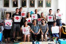 Summer School 2014 Beijing and Qingdao / Hochschule Fresenius summer school trip to China 2014, 1 week in Beijing, 1 week in Shanghai, 6 weeks in Qingdao for culture, language classes and an internship.. great times!