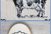 Vintage Sass Collection - Sassy Cross Stitch / For those who can't hold back their sassy side.
