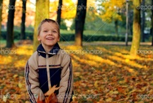 Autumn kids photography