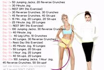 fitness plans / by Jena Wyllie