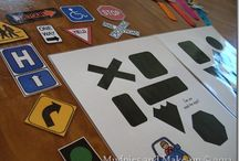 PreK File Folder Games