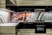 Minimalistic kitchen / Exclusive kitchen Excello