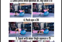 pregnancy exercise ball exercise