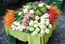 Obst und Gemüse Märkte