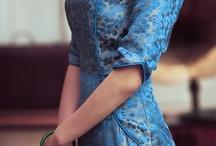 Chinese silk dresses