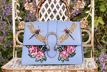 Appliqué Handbags
