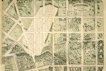 Philadelphia History / Images & Maps of Historic Philadelphia / by Alex Rudinski