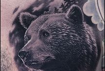 Bear tattoo