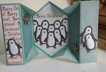 Stampin Up! Christmas / Stampin up Christmas or Winter holiday cards