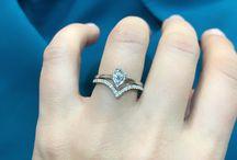 ANTOANETTA - Engagement Rings / Our collection of engagement rings. Morganite, Aquamarine, Smoky Quartz alternative engagement rings.