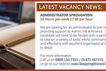 Employment Opportunties / Stepping Stones Community is evolving and expanding and we are looking for suitable staff to fill roles within our community. contact us  on 0800 133 7355 / 01473 487373 http://www.steppingstonescommunity.com/employment-opportunities/
