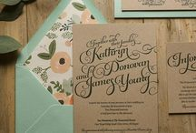 { Rustic Wedding Invitations } / -- I have found the one whom my soul loves. - Song of Solomon 3:4