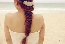 ♥︎Bridal hair & head dress♥︎