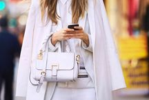 Total white look!