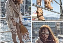 BOHEMIAN Style Outfits / Outfits in boho style. Bohemian fashion looks for women